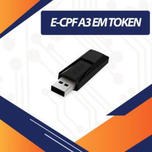 E-CPF A3 EM TOKEN